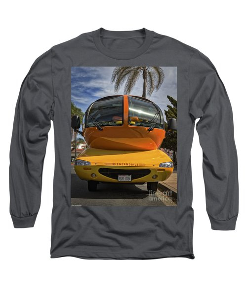 The Wienermobile Long Sleeve T-Shirt