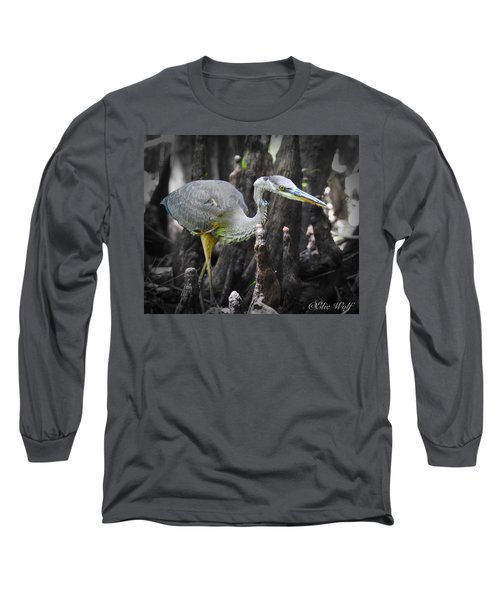 The Winged Stalker Long Sleeve T-Shirt