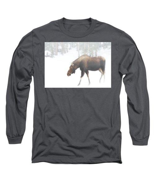The Winter Moose Long Sleeve T-Shirt