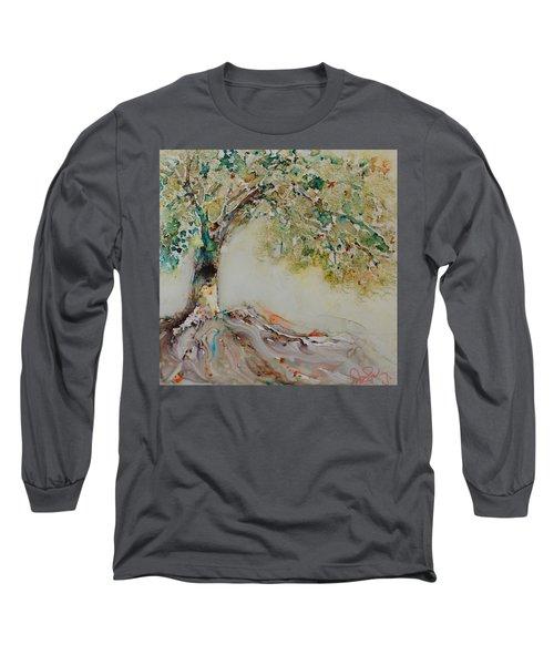 The Wisdom Tree Long Sleeve T-Shirt by Joanne Smoley