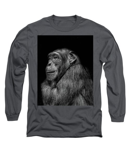 The Wise Chimp Long Sleeve T-Shirt
