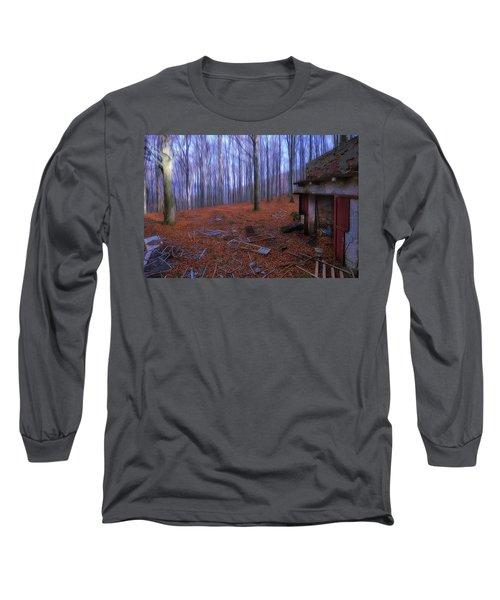 The Wood A La Magritte - Il Bosco A La Magritte Long Sleeve T-Shirt