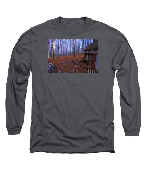 The Wood A La Magritte - Il Bosco A La Magritte Long Sleeve T-Shirt