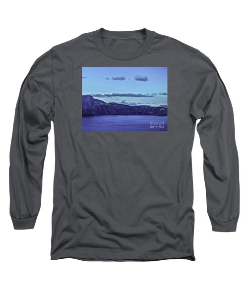 Long Sleeve T-Shirt featuring the photograph The World Beyond by Nancy Marie Ricketts