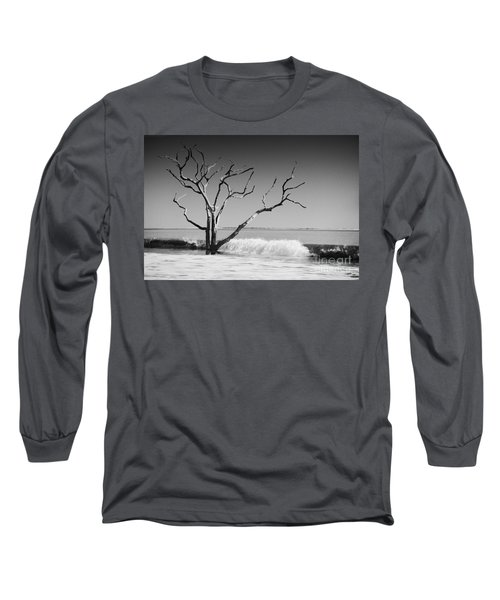 Long Sleeve T-Shirt featuring the photograph The World Is Coming Down II by Dana DiPasquale