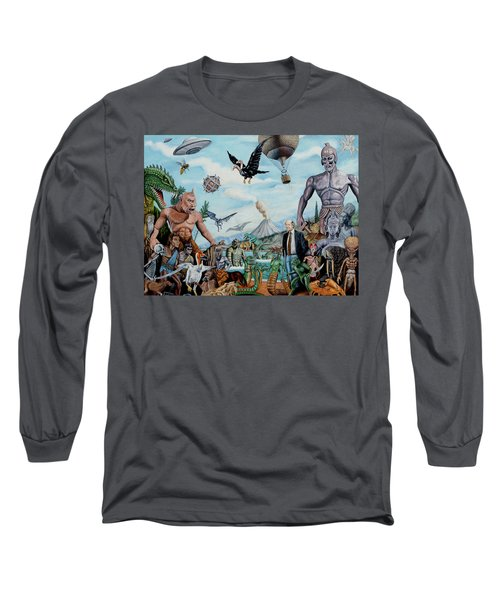 The World Of Ray Harryhausen Long Sleeve T-Shirt