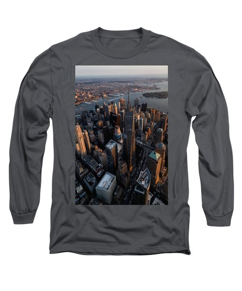 The World Trade  Long Sleeve T-Shirt
