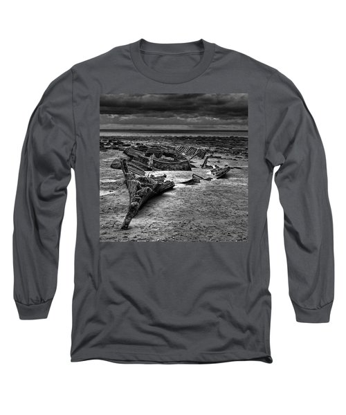 The Wreck Of The Steam Trawler Long Sleeve T-Shirt