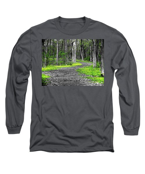 The Yellow Marsh Marigolds Of Spring Long Sleeve T-Shirt