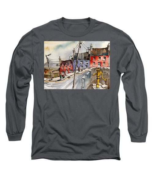 The Yellow Pump, Eyeries, Cork Long Sleeve T-Shirt