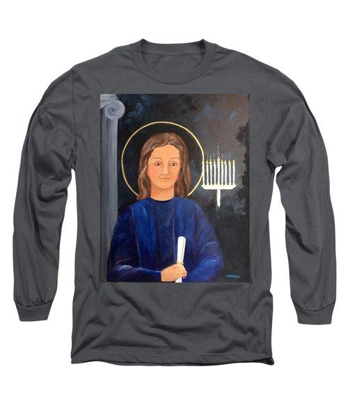 The Young Teacher Long Sleeve T-Shirt by Ellen Canfield