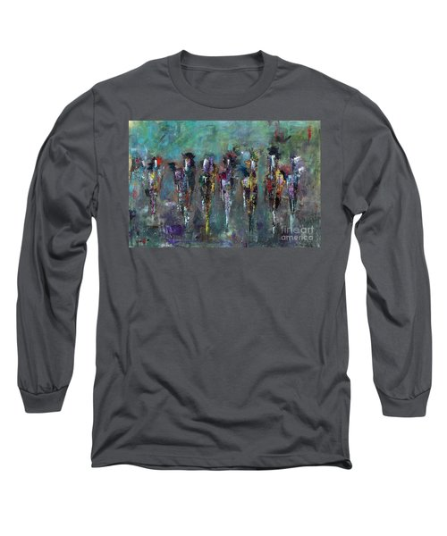 Then Came Seven Horses Long Sleeve T-Shirt
