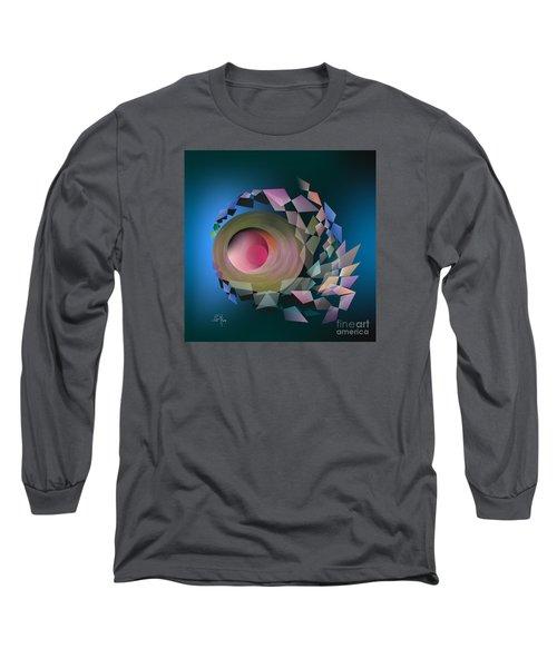 Long Sleeve T-Shirt featuring the digital art Theory Of Joke by Leo Symon