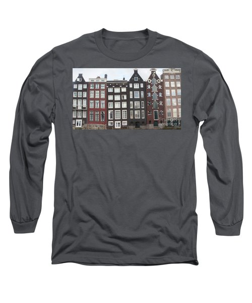 There Was A Crooked House Long Sleeve T-Shirt by Therese Alcorn