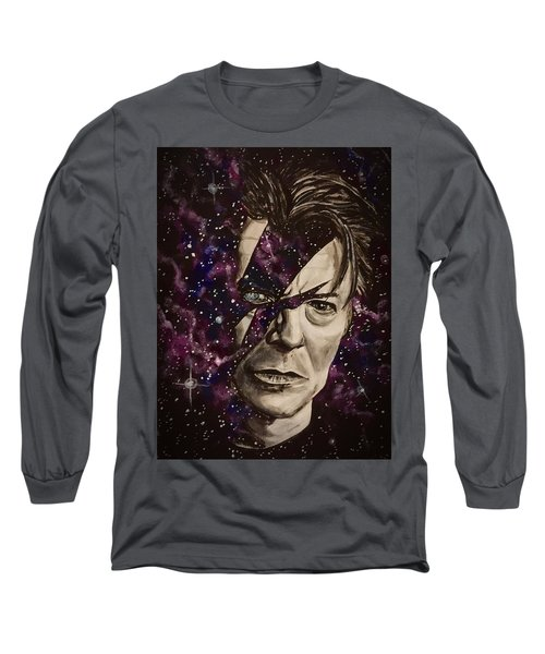 There's A Starman Waiting In The Sky Long Sleeve T-Shirt