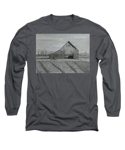 Theresa's Barn Long Sleeve T-Shirt by Tony Clark