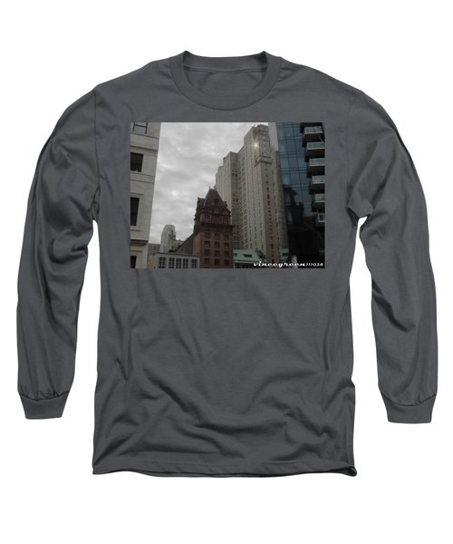 They Always Say It's Sunny In Philadelphia Long Sleeve T-Shirt