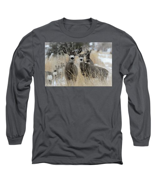 They Guided Him To Heaven Long Sleeve T-Shirt