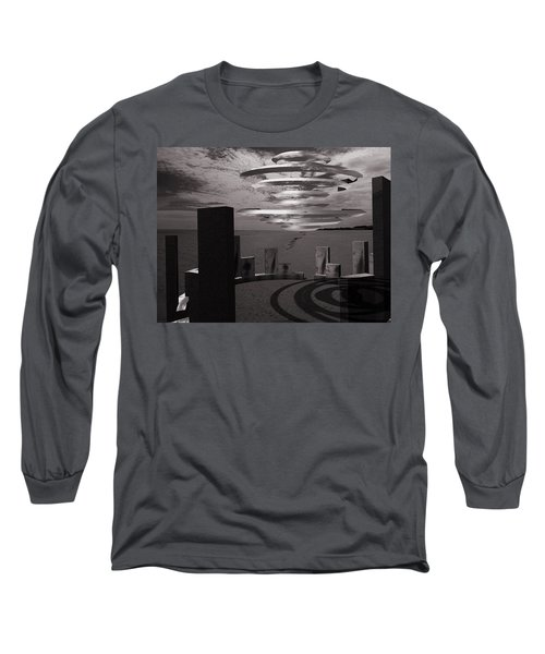 Long Sleeve T-Shirt featuring the photograph They're Back.... by Keith Elliott