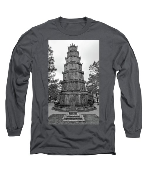 Thien Mu Pagoda Long Sleeve T-Shirt