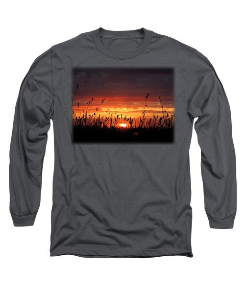 Thinking Of You Long Sleeve T-Shirt by Linda Hollis