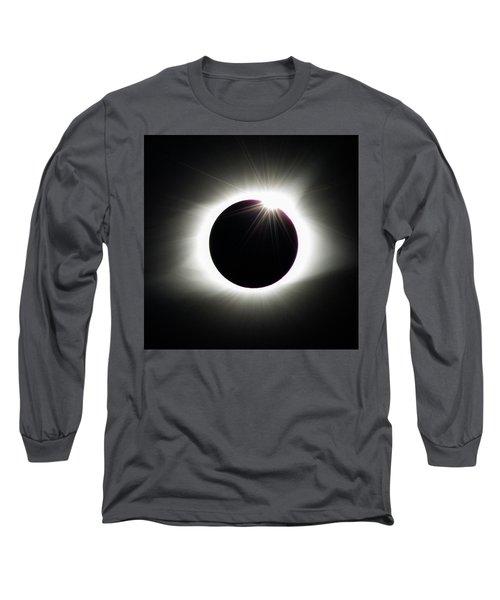 Long Sleeve T-Shirt featuring the photograph Third Contact by Randy Scherkenbach