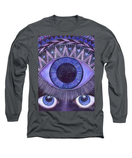 Third Eye Chakra Long Sleeve T-Shirt