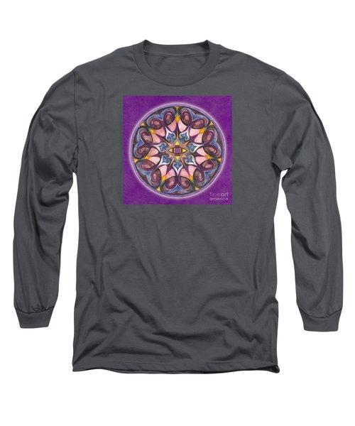 Third Eye Mandala Long Sleeve T-Shirt