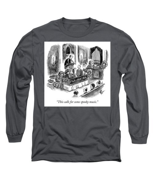This Calls For Some Spooky Music Long Sleeve T-Shirt