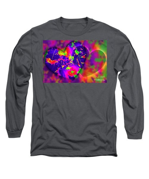 This Hearts For You Long Sleeve T-Shirt by Donna Bentley