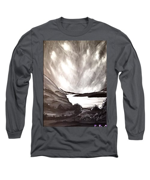 Thistle Do Nicely Long Sleeve T-Shirt by Scott Wilmot