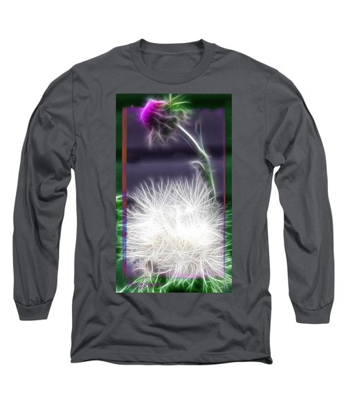 Thistle Long Sleeve T-Shirt by EricaMaxine  Price