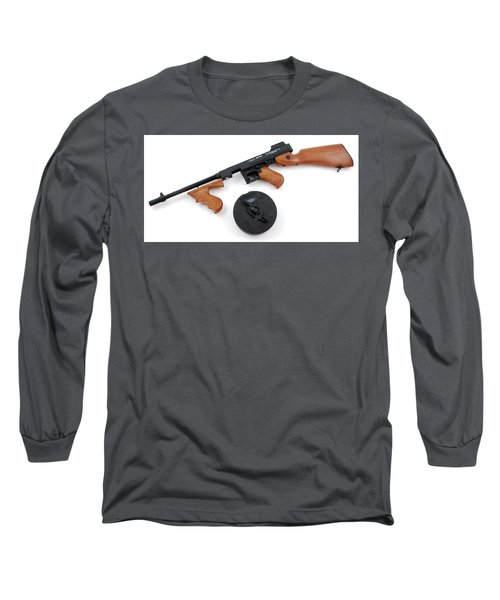 Thompson Submachine Gun Long Sleeve T-Shirt