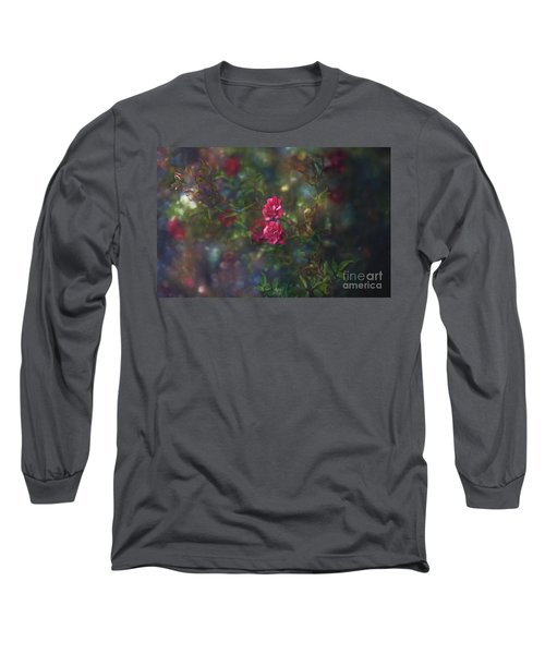 Thorns And Roses II Long Sleeve T-Shirt by Agnieszka Mlicka