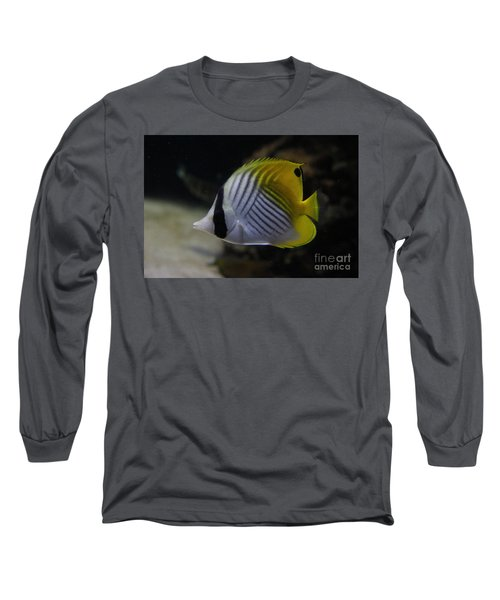 Threadfin Butterfly Fish Long Sleeve T-Shirt