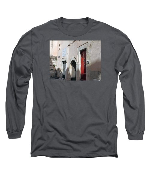Three Different Doors Long Sleeve T-Shirt by Allan Levin