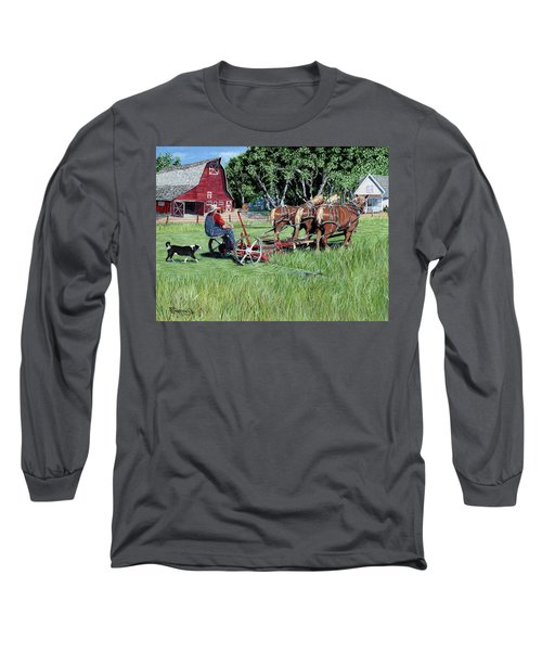 Three Horsepower Long Sleeve T-Shirt