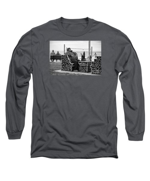 Three Laguna Lifestyles Long Sleeve T-Shirt by Vinnie Oakes