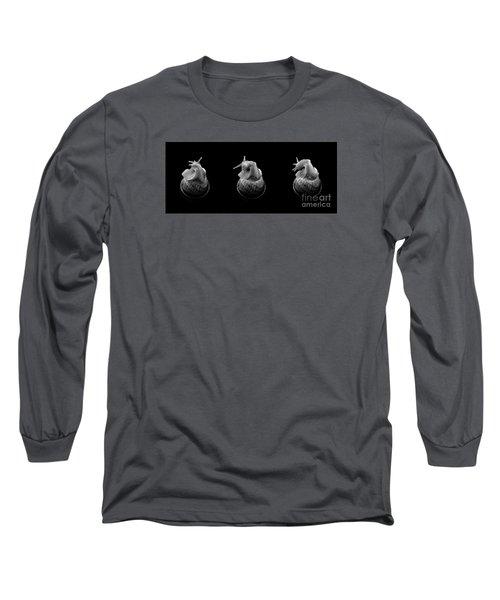 Three Snails Long Sleeve T-Shirt