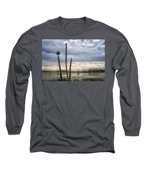 Three Sticks Long Sleeve T-Shirt