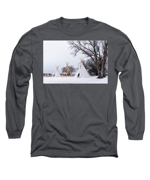 Three Tipis Long Sleeve T-Shirt