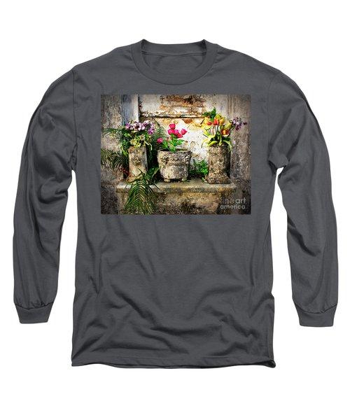 Three Vases Long Sleeve T-Shirt