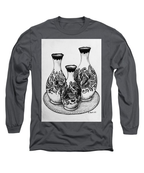 Three Vases Long Sleeve T-Shirt