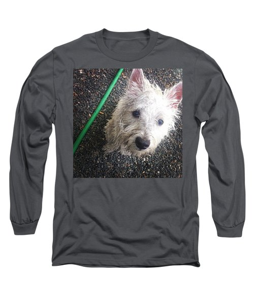 Wild Willie Discovers The Hose Long Sleeve T-Shirt