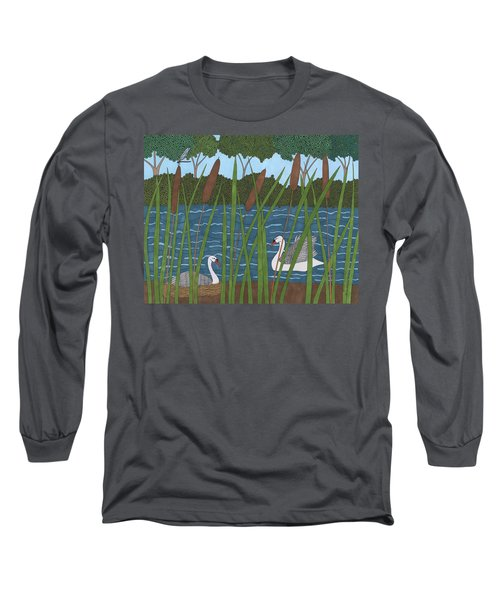 Through The Cattails Long Sleeve T-Shirt