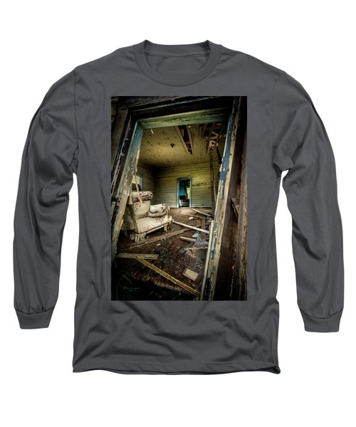 Through The Crooked Window Long Sleeve T-Shirt
