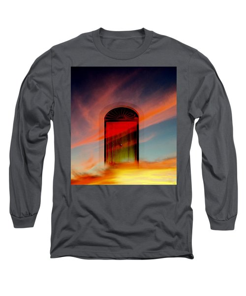 Through The Door Long Sleeve T-Shirt by Katy Breen