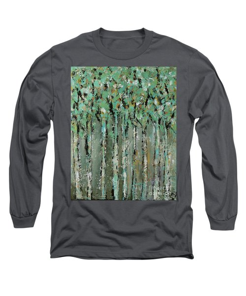 Through The Forest Long Sleeve T-Shirt by Kirsten Reed