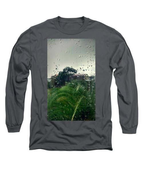 Long Sleeve T-Shirt featuring the photograph Through The Looking Glass by Persephone Artworks