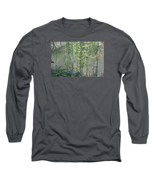 Through The Willows Long Sleeve T-Shirt by Linda Geiger